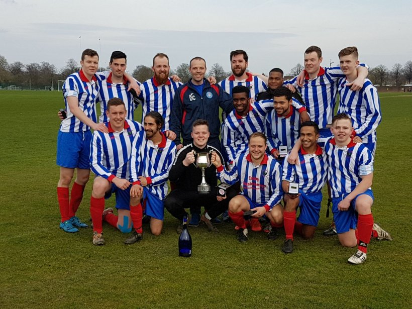 6 th Team Double SAL Senior Novets Cup and League: Double Champions
