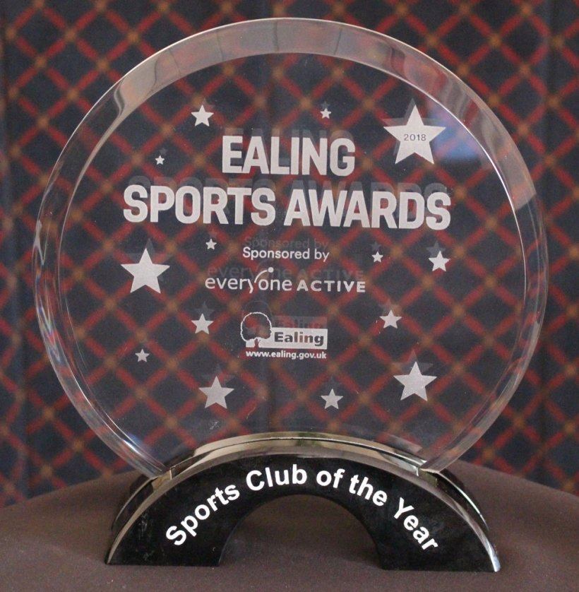 Actonians Association awarded the Ealing Sports Club of the Year 2018